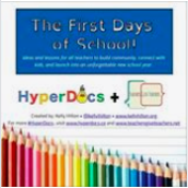 Amazing Back to School Book Combining Hyperdocs with Book Creator