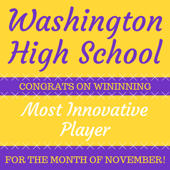 Most Innovative Player - November 2018