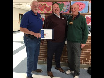 Lake Kiowa Kiwanis Recognized