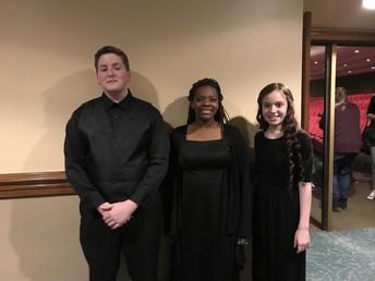 BMS All-State Choir Participants