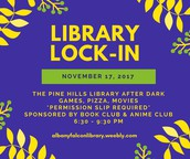 2nd Annual Library Lock-In