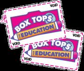 BOX TOPS - THANK YOU & CONGRATS!