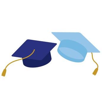 graphic of graduation ceremony mortar cap