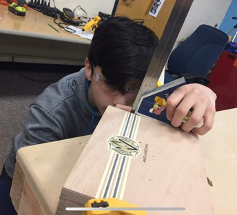 Students will construct ukuleles while exploring principles of engineering and physics.