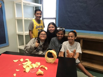 Pringle Challenge Team building with Kyle 5th Graders!