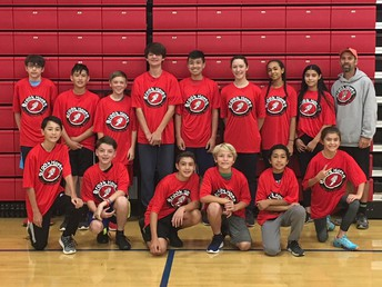 Cross Country Team with Mr. Garrison