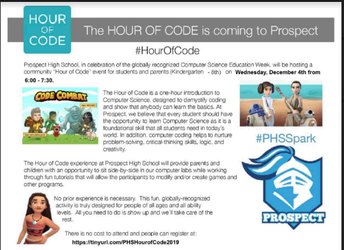 PHS HOUR OF CODE