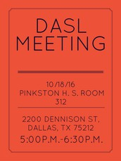 This month our meeting will be at Pinkston H. S. Room 312