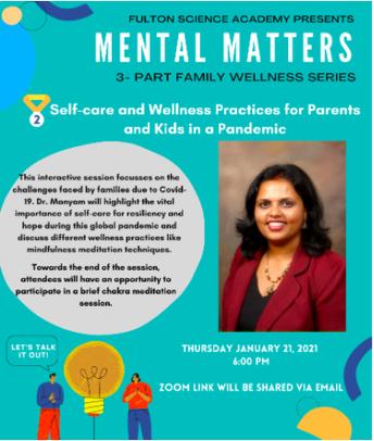 Mental Matters | Part 2 of a 3 Part Wellness Series