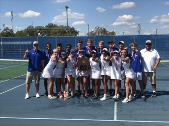 Tennis Takes District Championship