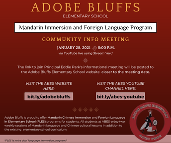 Mandarin Immersion Program