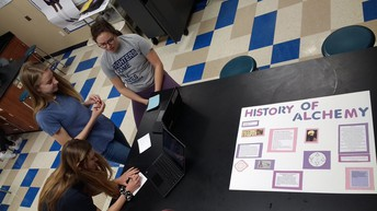 Mrs. Hanson's College Chemistry students engage in a variety of projects!