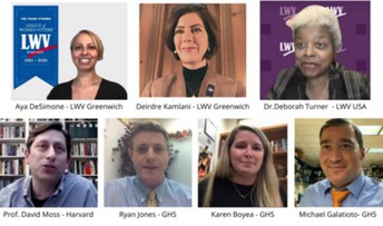 League of Women's Voters of Greenwich virtual discussion.