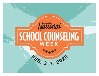 National School Counseling Week!