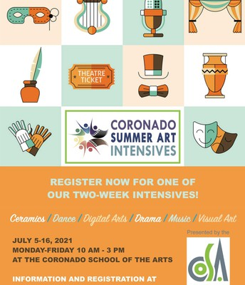 Coronado Summer Art Intensives