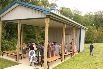 The New Outdoor Class at Pine Road Elementary School