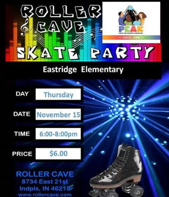 Roller Cave Skating Party