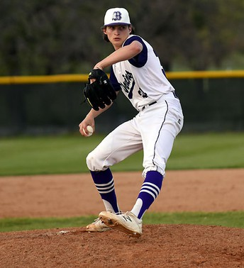 With Tanner On The Mound, Bonham Warriors Shuts Out Blue Ridge