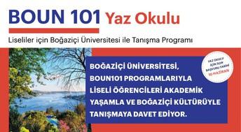 Boğaziçi Üniversitesi BOUN 101