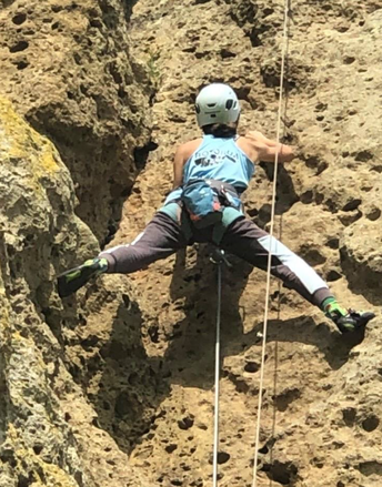 WHHS Climber Accepted into Climbing NZ Development Camp