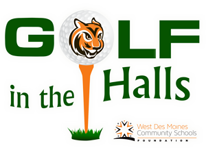Golf in the Halls logo