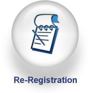 Re-Registration 2019-2020 School Year