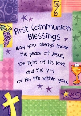 First Eucharist Celebration