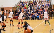 Girls VBall Crushes Staff in Annual Faculty Game