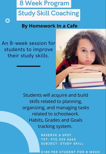 Homework In A Cafe