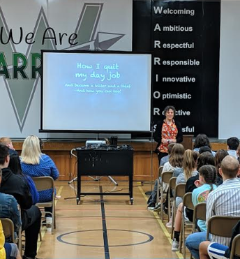 7th and 8th grade Author Visit: April Henry