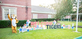 A special greeting for our Tigers!