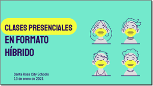 Dr. Kitamura's report on preparation for in-person instruction, Spanish