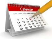 Mark Your Calendars