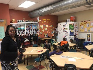 Ms. Howell uses action affirmations to motivate her students