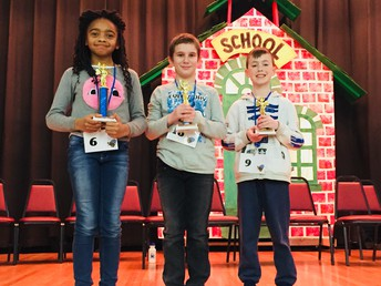 Central 3rd Grade Spelling Bee Winners