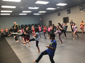 Learning Martial Arts!