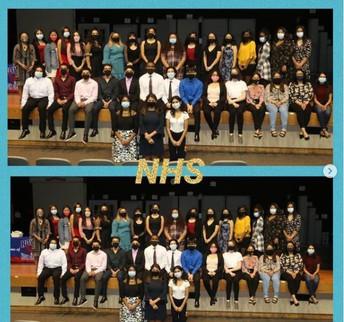 2020-2021 RHS National Honor Society Inductees