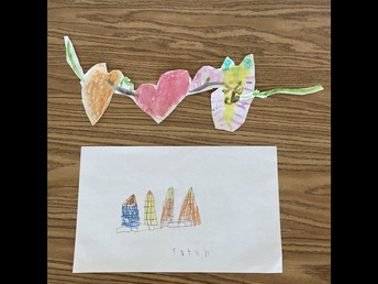 Principal's love kinder art!