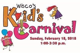 WISCO KID'S CARNIVAL FOR AGES 3-GRADE 4 - SUNDAY, FEBRUARY 18