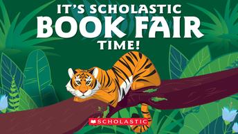 Scholastic Book Fair is NEXT week!