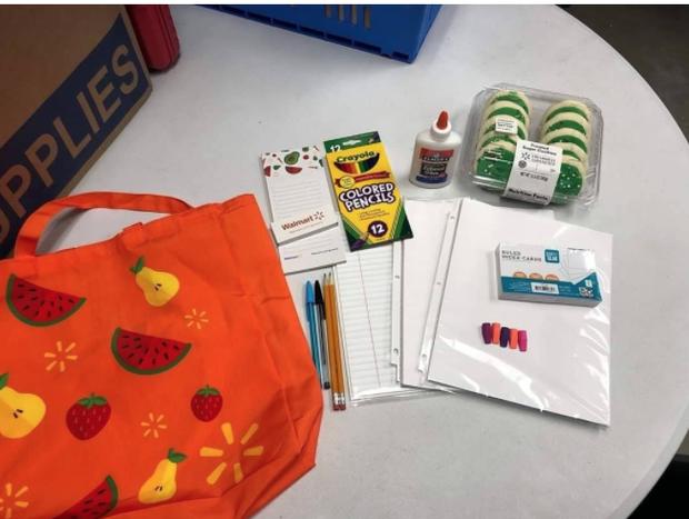 Supplies at Walmart