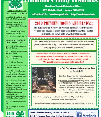 Prefair newletter page 1