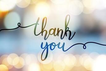 Thank You for Teacher Appreciation!