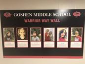 Warrior Way Wall Winners