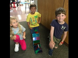 building with Magnetic Blocks
