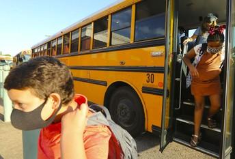 Wear Mask On Bus