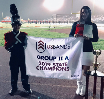 Marching Band Group 2A State Champions!