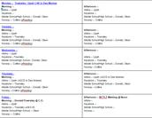 #BCTLT Schedule 1/23/17 - 1/27/17