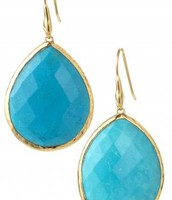 Serenity Stone Drops - Turquoise