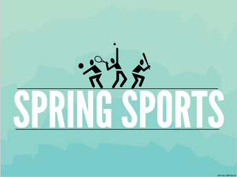 Attention Spring Sports Athletes!